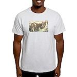 Tabby Cat Ash Grey T-Shirt