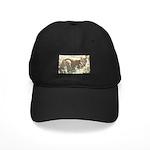 Tabby Cat Black Cap
