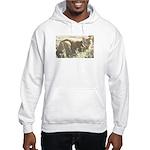 Tabby Cat Hooded Sweatshirt
