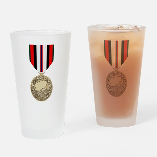Afghanistan Campaign Drinking Glass