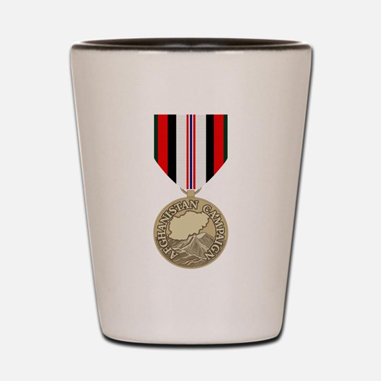 Afghanistan Campaign Shot Glass