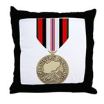 Afghanistan Campaign Throw Pillow