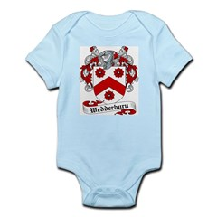 Wedderburn Coat of Arms / Crest Infant Creeper
