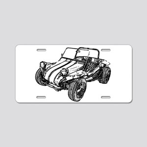 Retro Dune Buggy Aluminum License Plate