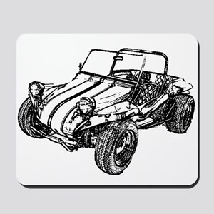 Retro Dune Buggy Mousepad