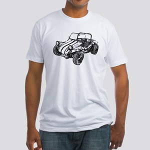 Retro Dune Buggy Fitted T-Shirt