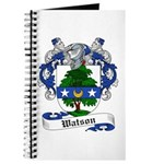Watson Coat of Arms / Family Crest Journal