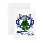 Watson Coat of Arms / Family Crest Greeting Cards