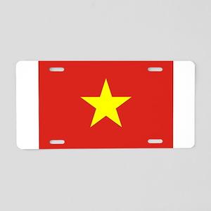 Flag of Vietnam Aluminum License Plate