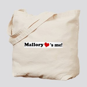 Mallory loves me Tote Bag