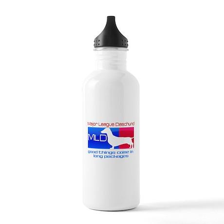 Major League Daschund Stainless Water Bottle 1.0L