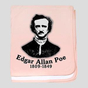 Edgar Allan Poe Tribute baby blanket