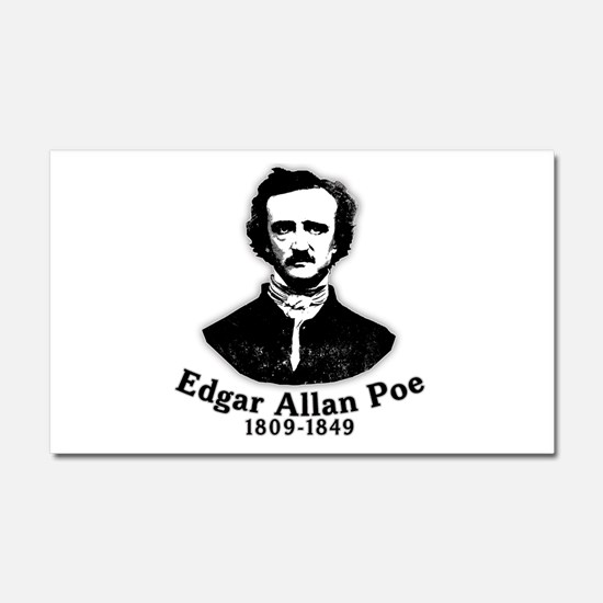 Edgar Allan Poe Tribute Car Magnet 20 x 12