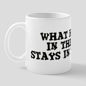 Stays in the Field Mug