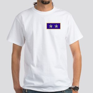 Rear Admiral (UH)<BR> White T-Shirt