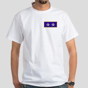 Rear Admiral (UH)<BR> White T-Shirt