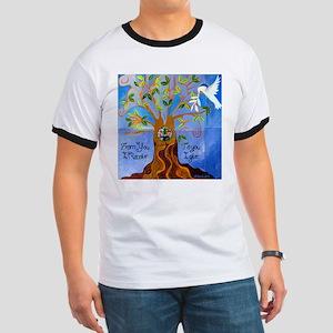 Tree of Life Design Ringer T