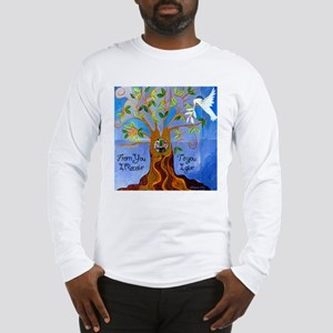 Tree of Life Design Long Sleeve T-Shirt