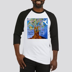 Tree of Life Design Baseball Jersey