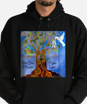 Tree of Life Design Hoodie (dark)