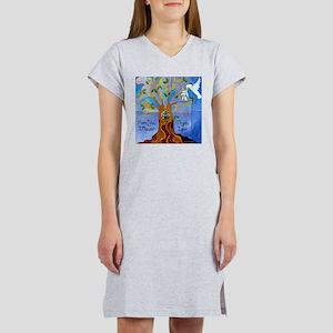 Tree of Life Design Women's Nightshirt