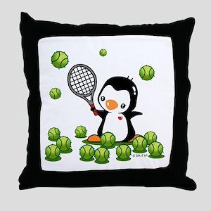 Tennis (22) Throw Pillow