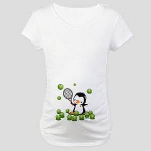Tennis (22) Maternity T-Shirt