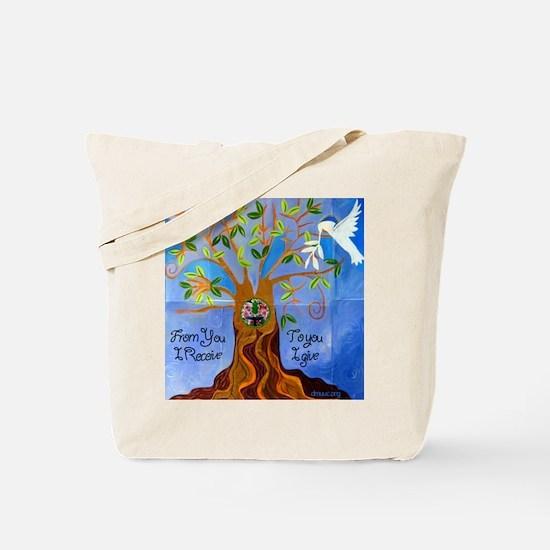 Tree of Life Design Tote Bag