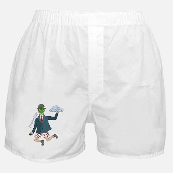 Art Magritte Funny Humor Boxer Shorts