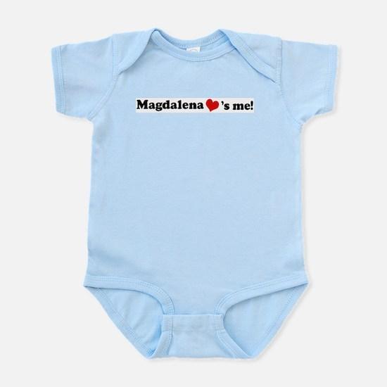 Magdalena loves me Infant Creeper