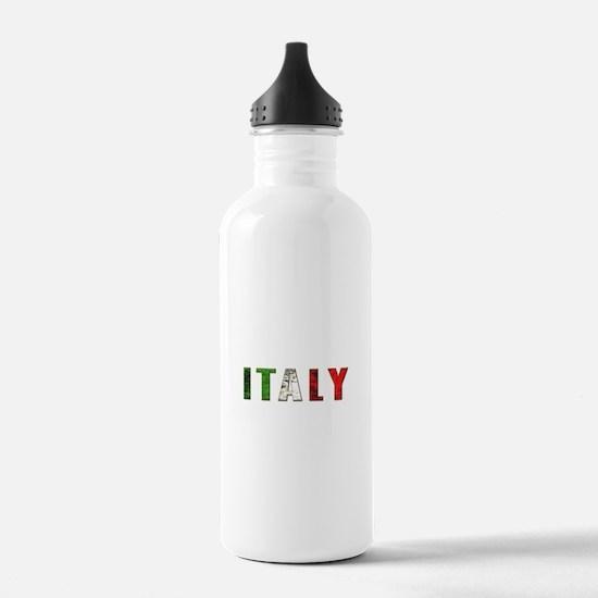 Italy Logo Water Bottle