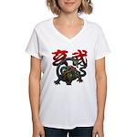 Genbu Women's V-Neck T-Shirt