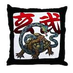 Genbu Throw Pillow