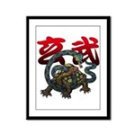 Genbu Framed Panel Print