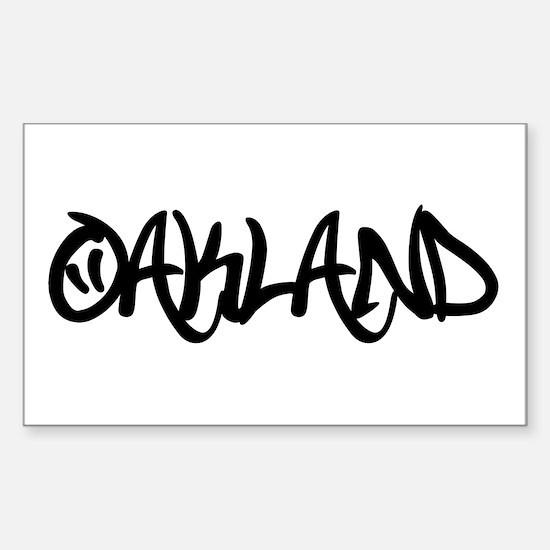 Oakland (www.repoakland.com) Sticker (Rectangle)