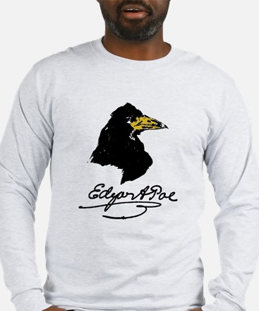 The Raven by Edgar Allan Poe Long Sleeve T-Shirt