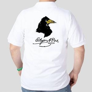 The Raven by Edgar Allan Poe Golf Shirt