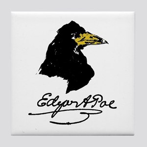 The Raven by Edgar Allan Poe Tile Coaster