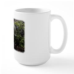 White Mushroom Forest 1 mug