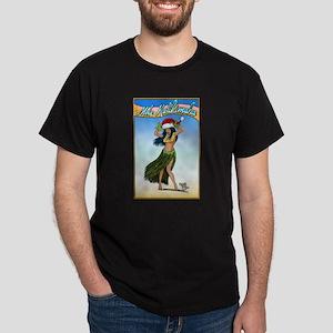 Mele Kalikimaka ( Merry Chris Dark T-Shirt