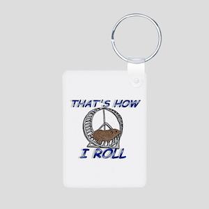 That's How I Roll Aluminum Photo Keychain