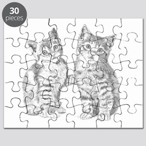 Tabby kittens Puzzle