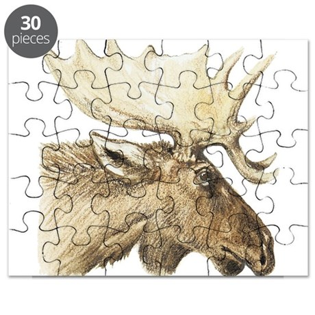 moose drawing Puzzle