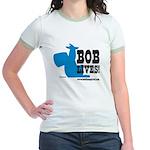 Bob Lives! Jr. Ringer T-Shirt