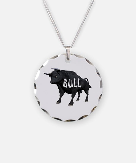 LOT OF BULL Necklace