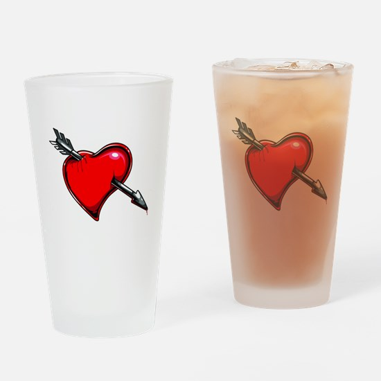 Cute Swallow Drinking Glass