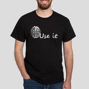 Brain Humor Dark T-Shirt