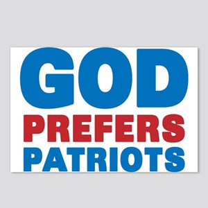 God Prefers Patriots Postcards (Package of 8)