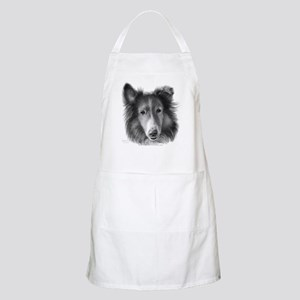Rough Collie BBQ Apron