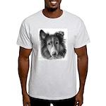 Rough Collie Ash Grey T-Shirt